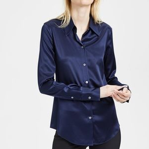 Theory's 'Perfect' shirt Navy classic fit